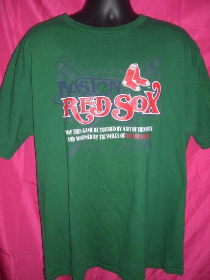 Boston Red Sox ~ Irish Luck XL T Shirt ~ Red Sox Nation