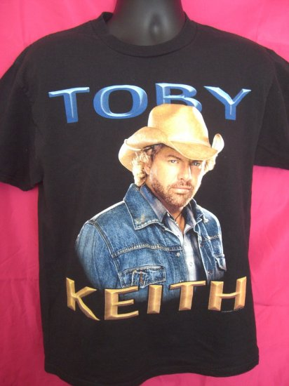 """SOLD! 2005 Toby Keith Medium T-Shirt """" I'm as good once as I ever was """"...."""