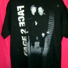 2001 Face 2 Face Elton John Billy Joel Concert Tour XL T-Shirt Face2Face