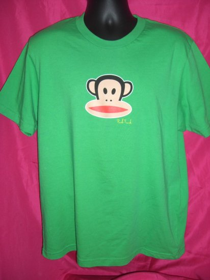 SOLD! Rare Paul Frank Large Green Men's T-Shirt