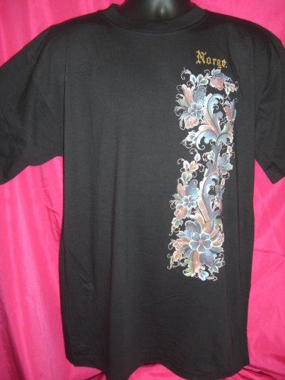 ROSEMALERS Norge Norway Norwegian Ladies Large T-Shirt