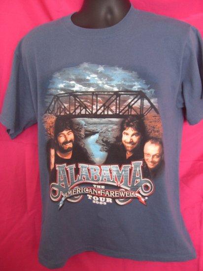 SOLD! ALABAMA  2003 Country Music Farewell Tour Medium T-Shirt