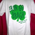 Funny Vintage Irish Large T-Shirt ERIN GO BRAGH Ireland Forever