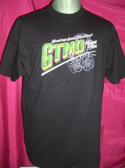 SOLD! Rare Club GTMO (Guantanamo Bay ~ GITMO) Cuba Size MEDIUM / LARGE T-Shirt