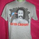 Rare! Scarce! 1989 DAVID CROSBY T-Shirt Size LARGE