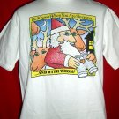 Funny Santa T-Shirt Size Large~ Spouse acting up?! Wear this!