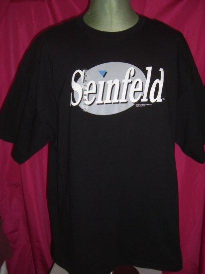 Rare 1996 NWT TV's Seinfeld XXL Black T-Shirt 2XL