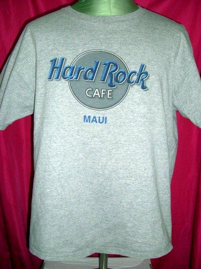 SOLD! Hard Rock MAUI Size XL GreyT-Shirt Hawaii
