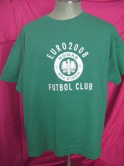 Soccer EURO 2008 Futbol Club Nomad World Pub XL Green T-Shirt