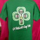 St Patrick's Day Size XL T-Shirt Shamrock Heineken Larger Beer Promo Irish