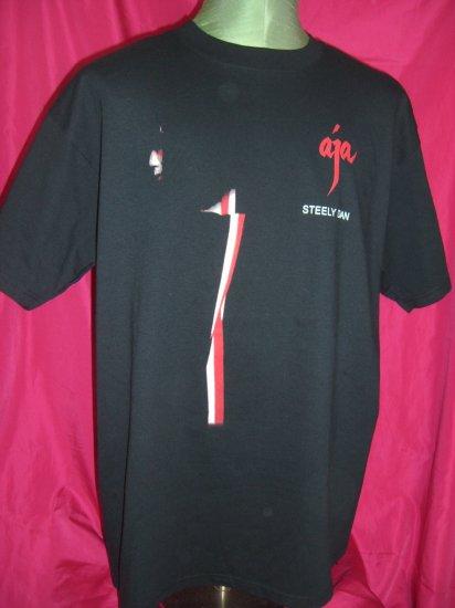SOLD! Steely Dan AJA Concert Tour XL Black T-Shirt 2003