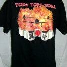 Tora Tora Tora Size Large XL T-Shirt Japanese Flag