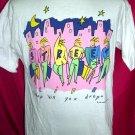 Rare 1987 Australia Size Medium T-Shirt Shop 'til You Drop