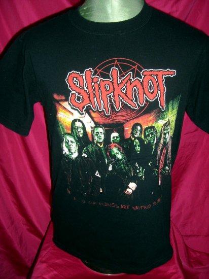 Slipknot 2005 Subliminal Verses Concert Tour Size Medium T-Shirt