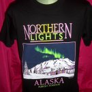 Aurora Borealis  Northern Lights Alaska Size Medium or Large T-Shirt