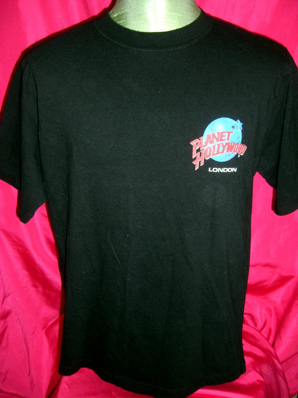 1998 London Planet Hollywood Large T-Shirt UK
