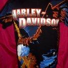 Vintage 1995 Harley Davidson T-Shirt Size Medium Unique Eagle