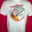 Rare Captain Midnight Size Medium Thin T-Shirt ~ Drink Your Ovaltine!