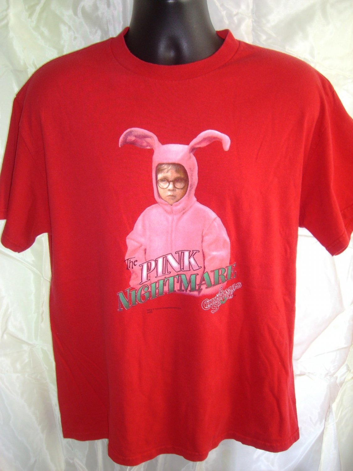 SOLD! A Christmas Story (Movie) Medium T-Shirt ~ THE PINK NIGHTMARE