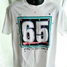 Turning 65 Fun T-Shirt Size Large Living the Best Years 65th Birthday