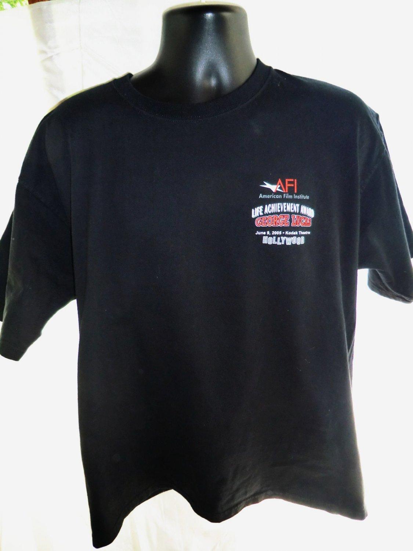 Rare AMERICAN GRAFFITI George Lucas Award American Film T-Shirt  XL
