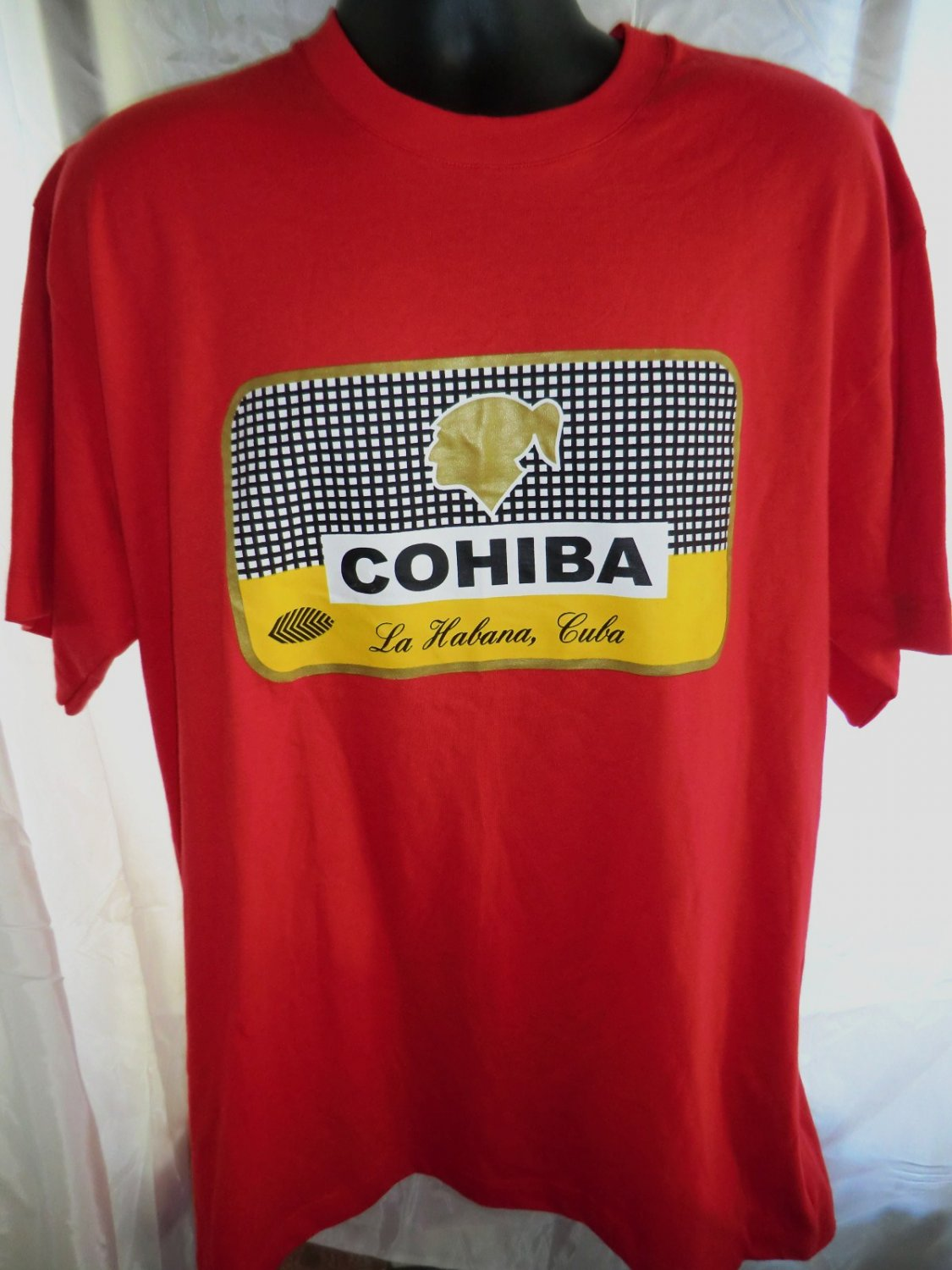 SOLD! NEW Havana (Habana) Cuba COHIBA CIGAR T-Shirt Size XL