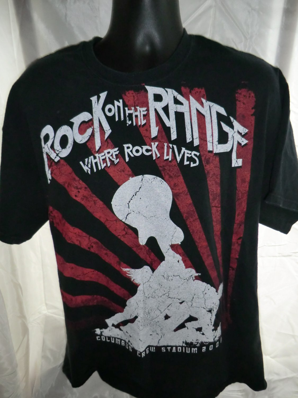 Rock on the Ridge T-Shirt Size XL Stone Temple Pilots Kid Rock