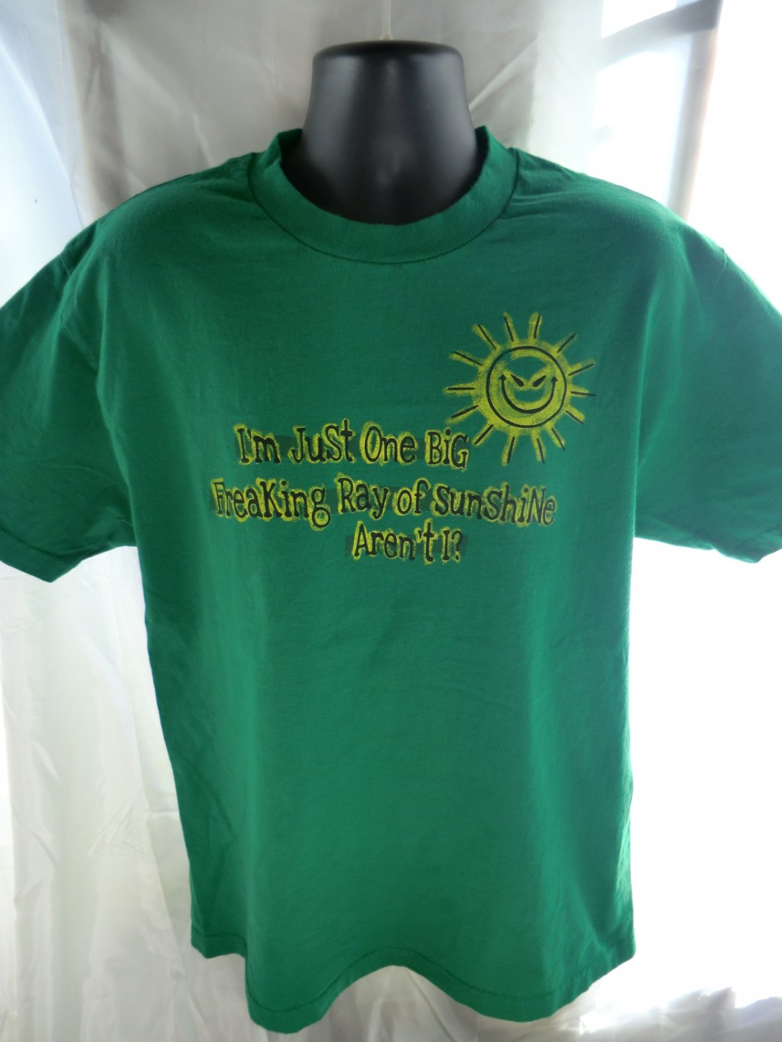 SOLD! Just One Big Freaking Ray of Sunshine T-Shirt Size Large