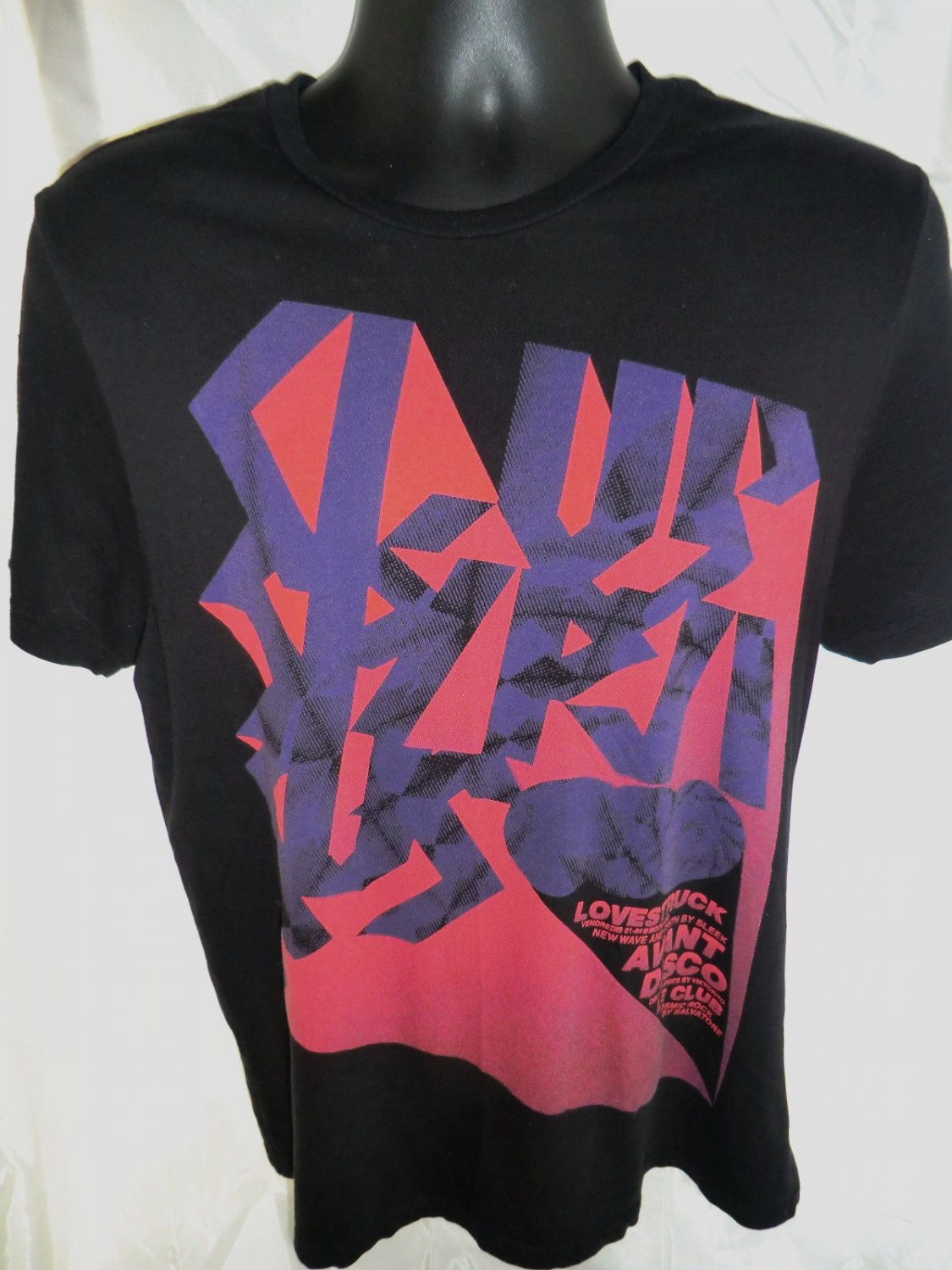 Cool Club T-Shirt Size Medium Disco Dancing