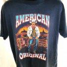 Vintage 1992 American Original Cowboy T-Shirt Size XL