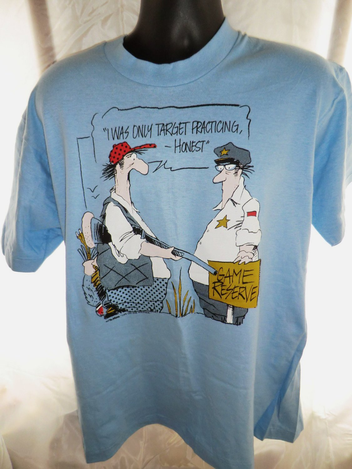 Funny Hunting T-Shirt Size XL~ I Was Only Target