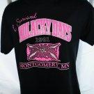 Vintage 1991 Survived KOLACKY DAYS Montgomery Minnesota T-Shirt Size Medium
