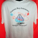 Gamma Ray Astronomy Whipple Observatory White T-Shirt Size XL