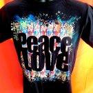 Hard Rock Café Peace Love Toronto T-Shirt Size SMALL