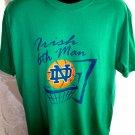 ND Notre Dame Irish 6th Man T-Shirt Size Large