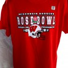 NEW 2012 Wisconsin Badgers ROSE BOWL T-Shirt Size Large