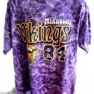 Minnesota Vikings XL T-Shirt DEAL! Tie Dye ~ Old Randy Moss Shirt # 84