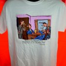 Funny Lawyer T-Shirt ~~ Legal advice …Lawyer Jokes ~~ Size Large