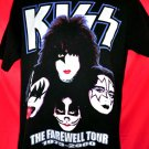 KISS FARWELL TOUR T-Shirt Size Large 1973-2000