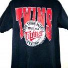 Vintage 1991 Minnesota Twins T-Shirt Size XL MN