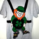 St Patrick's Day Leprechaun XL T-Shirt  Size Extra Large