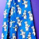 RALPH MARLIN Men's Novelty Tie  Pillsbury Dough Boy  Repeat pattern ~ Polyester