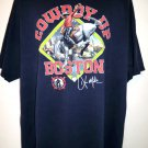 "Boston Red Soxs Baseball ""Cowboy Up"" Boston T-Shirt Size XXL"