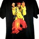 Jimi Hendrix T-Shirt Size Large Guitar on Fire Vintage 1991