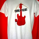Promo T-Shirt YOUNG AT HEART T-Shirt Size Medium
