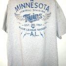 Minnesota  MN Twins T-Shirt Size XXL
