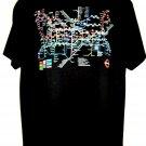 London UNDERGROUND Subway Map T-Shirt Size Large
