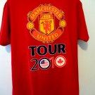 2010 Manchester United Tour Soccer T-Shirt July 21st Philadelphia Size XL