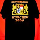 Munich German Beer Fest OKTOBERFEST 2006 Munchen T-Shirt Size Large