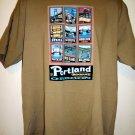 Portland Oregon T-Shirt Bridgetown Size XL